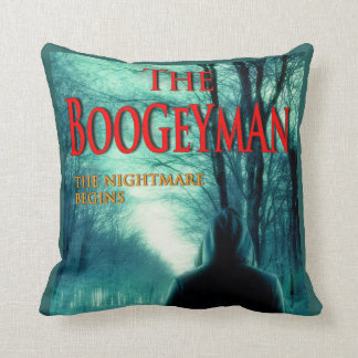 The Boogeyman Designer Throw Pillow