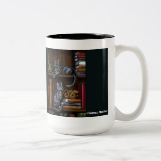 The Book Keepers Library Cats Mug