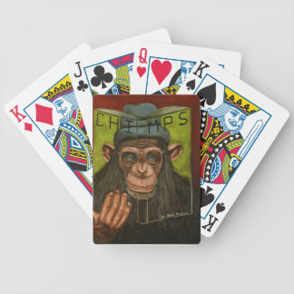 The Book Of Chimps Poker Deck