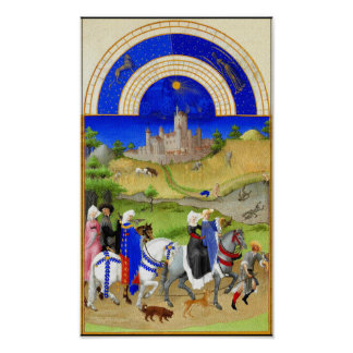 The Book of Hours - August Poster