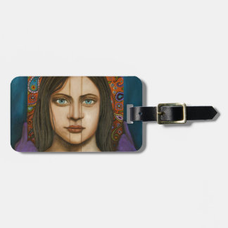 The Book Of Secrets Luggage Tag