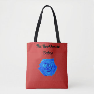 The Bookhouse Babes Blue Rose Tote Bag