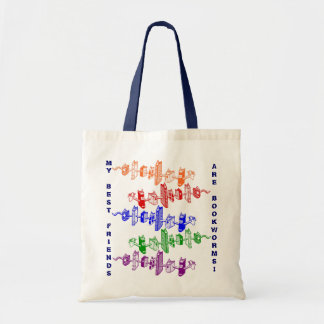 The Bookworm Book Tote ~ Promotes Reading!