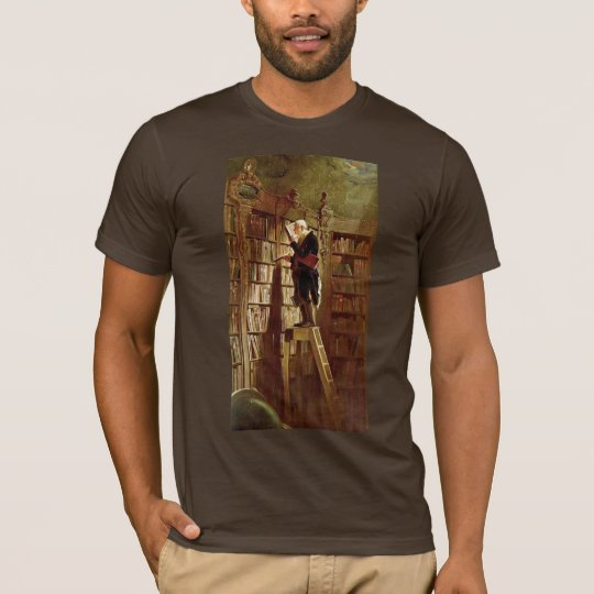 The Bookworm,  By Spitzweg, Carl T-Shirt