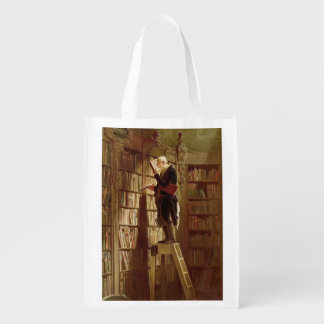 The Bookworm Reusable Grocery Bag