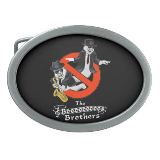 THE BOOS BROTHERS OVAL BELT BUCKLES