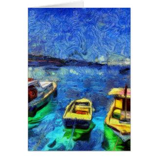 The Bosphorus Istanbul Art Card