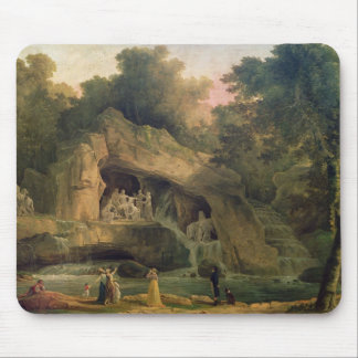 The Bosquet des Bains d'Apollo Mouse Pad