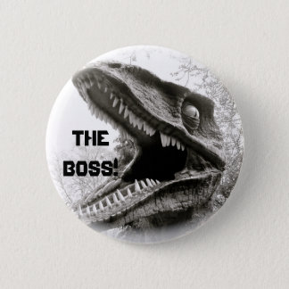 The Boss! 2 Inch Round Button