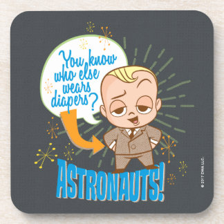 The Boss Baby | Astronauts Beverage Coaster