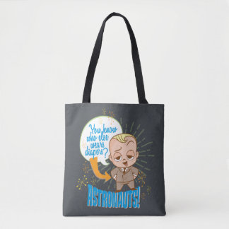 The Boss Baby   Astronauts Tote Bag
