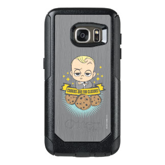 The Boss Baby | Baby & Cookies are for Closers! OtterBox Samsung Galaxy S7 Case