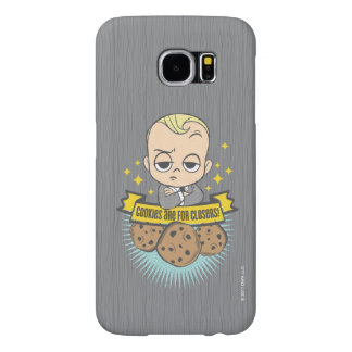 The Boss Baby | Baby & Cookies are for Closers! Samsung Galaxy S6 Cases