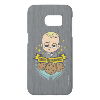 The Boss Baby | Baby & Cookies are for Closers! Samsung Galaxy S7 Case