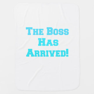 The Boss Baby Blanket