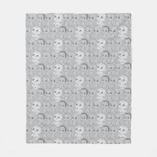 The Boss Baby   Grey Pattern Fleece Blanket