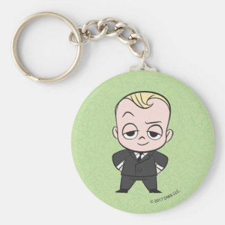 The Boss Baby   I am no Ordinary Baby Basic Round Button Keychain