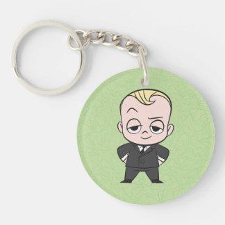 The Boss Baby   I am no Ordinary Baby Double-Sided Round Acrylic Keychain