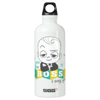 The Boss Baby | I am the Boss. I Say. You Do. Water Bottle