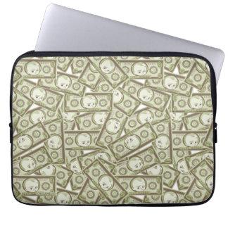 The Boss Baby | Money Pattern Laptop Sleeve