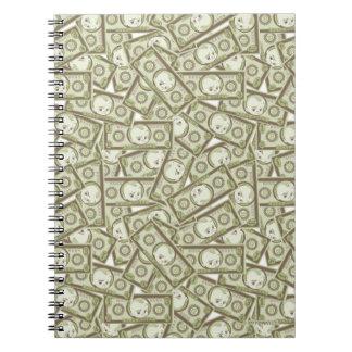The Boss Baby | Money Pattern Notebook
