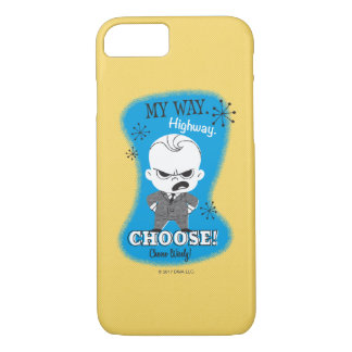 The Boss Baby | My Way. Highway. iPhone 8/7 Case