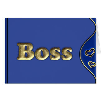 The Boss Card