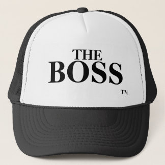 The Boss Trademark TM Trademark Trucker Hat