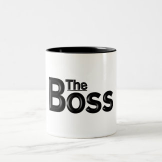 """The Boss"" Work Mug"