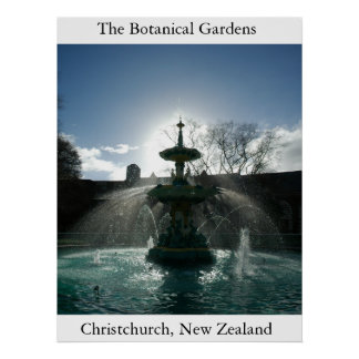 The Botanical Gardens  Poster