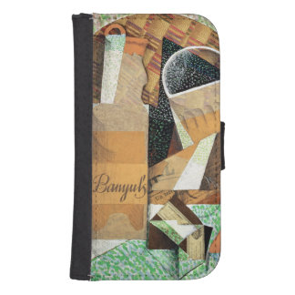 The Bottle of Banyuls, 1914 (gouache & collage) Phone Wallet Cases