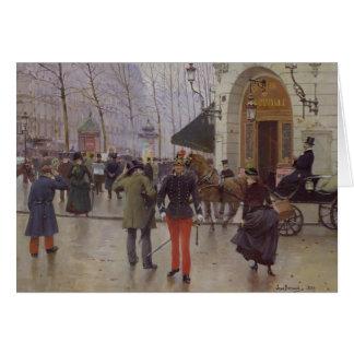 The Boulevard des Capucines Card