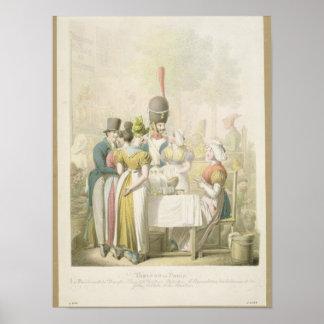 The Boulevard du Temple, from 'Tableau de Poster