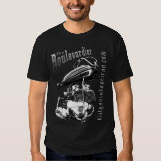 The Boulevardier B & W mens Shirt
