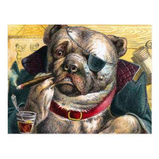 The Bouncer Dog Postcard