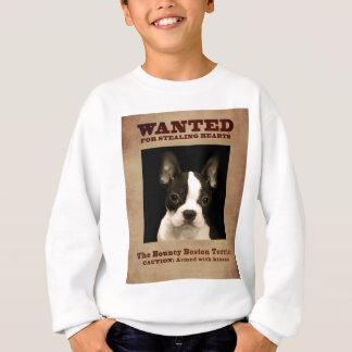 The Bouncy Boston Terrier Sweatshirt