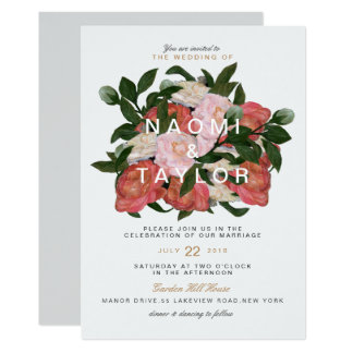 The Bouquet Card