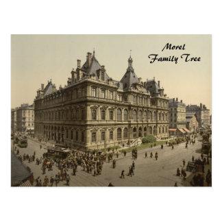 The Bourse, Lyon, France Postcard
