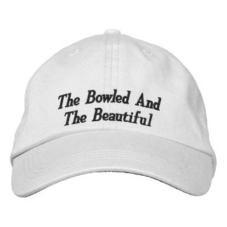 The Bowled And Beautiful, Embroidered Hat