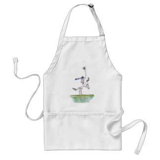 the bowler - cricket, tony fernandes standard apron
