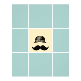 The Bowler Hat and Mustache Letterhead