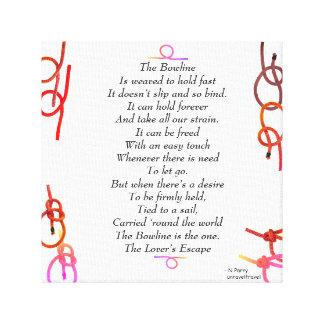 The Bowline - The Lover's Escape Canvas Print
