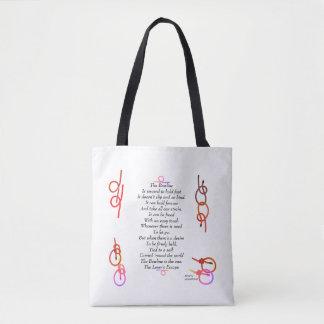 The Bowline - The Lover's Escape Tote Bag