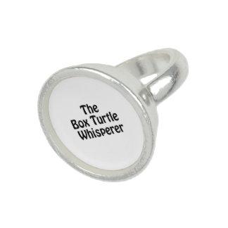 the box turtle whisperer rings