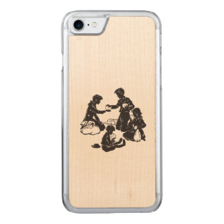 The Boxcar Children: Four Hungry Children Carved iPhone 8/7 Case