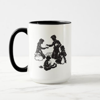 The Boxcar Children: Four Hungry Children Mug