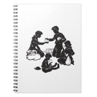 The Boxcar Children: Four Hungry Children Notebooks