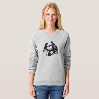 The Boxcar Children: Four Hungry Children Sweatshirt