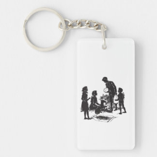 The Boxcar Children: Henry Has Two Surprises Keychain