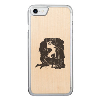 The Boxcar Children: Peek at the Moon Carved iPhone 8/7 Case